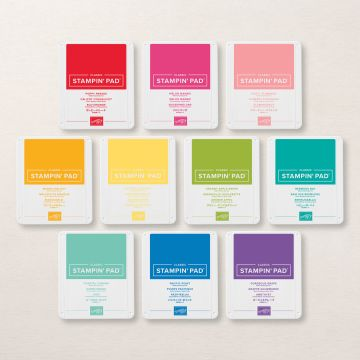 BRIGHTS COLLECTION CLASSIC STAMPIN' PADS