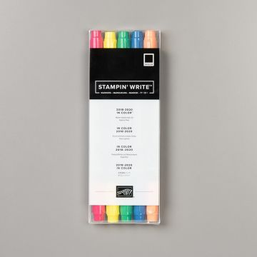 2018–2020 IN COLOR STAMPIN' WRITE MARKERS