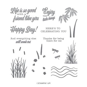 FRIEND LIKE YOU PHOTOPOLYMER STAMP SET (ENGLISH)