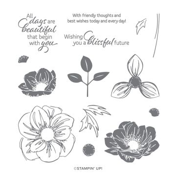 FLORAL ESSENCE PHOTOPOLYMER STAMP SET (ENGLISH)