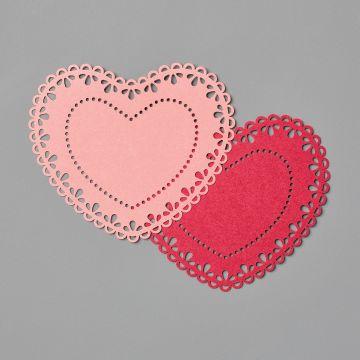 HEART DOILIES