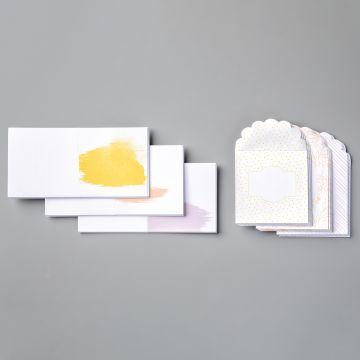 "BEST DRESSED 3"" X 3"" (7.6 X 7.6 CM) NOTE CARDS & ENVELOPES"