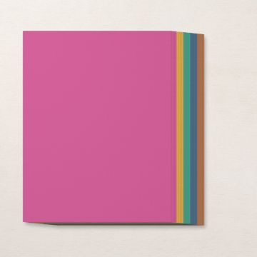 """IN COLOR 2020–2022 8-1/2"""" X 11"""" CARDSTOCK PACK"""