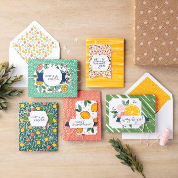 SIMPLY CITRUS CARD KIT (ENGLISH)