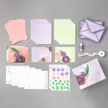 GORGEOUS POSIES CARD KIT (ENGLISH)