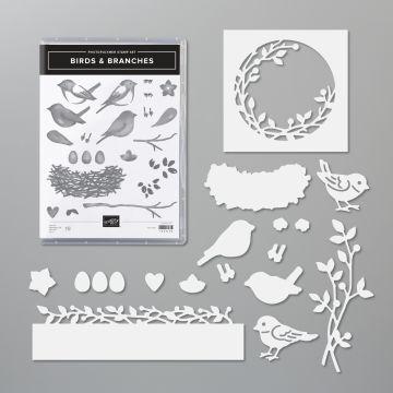 PRODUKTPAKET BIRDS & BRANCHES (ENGLISCH)