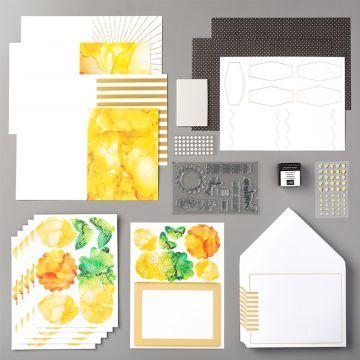 PAPER PUMPKIN KIT BOX OF SUNSHINE (ENGLISH)