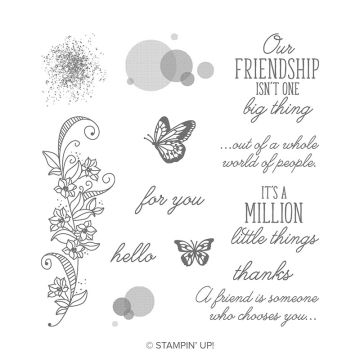 BEAUTY ABOUNDS CLING STAMP SET (ENGLISH)