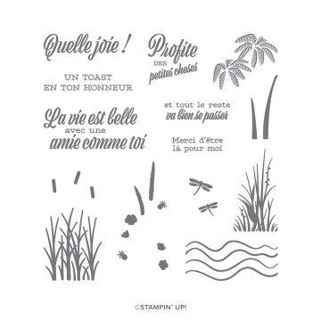 STEMPELSET KLARSICHT UNE AMITIÉ COMME LA NÔTRE (FRANZÖSISCH)