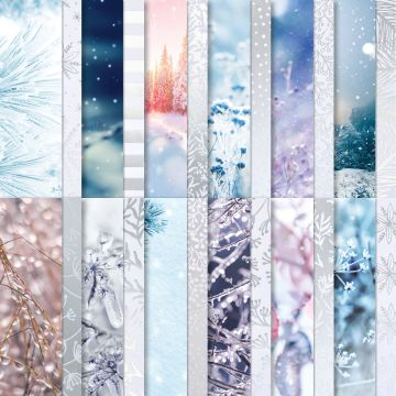 """FEELS LIKE FROST 6"""" X 6"""" (15.2 X 15.2 CM) SPECIALTY DESIGNER SERIES PAPER"""