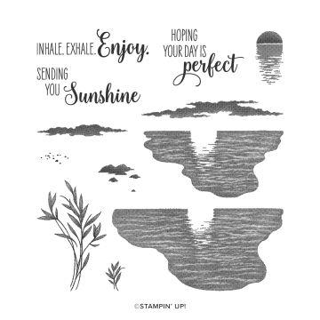 STEMPELSET KLARSICHT SENDING SUNSHINE (ENGLISCH)