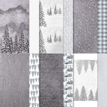 stampin up peaceful place patterned papers DSP