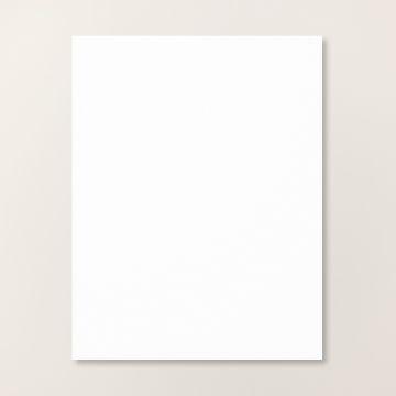 "BASIC WHITE 8-1/2"" X 11"" CARDSTOCK"
