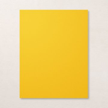 """CRUSHED CURRY 8-1/2"""" X 11"""" CARDSTOCK"""