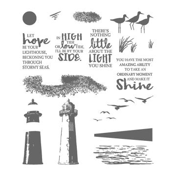 HIGH TIDE PHOTOPOLYMER STAMP SET (ENGLISH)