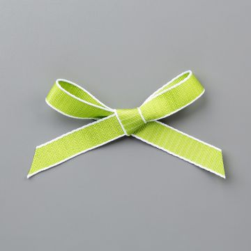 "Granny Apple Green 1/2"" (1.3 Cm) Textured Weave Ribbon"