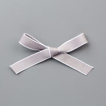 "Gray Granite 1/2"" (1.3 Cm) Textured Weave Ribbon"