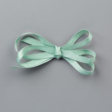 """Mint Macaron 1/4"""" (6.4 Mm) Textile Ribbon"""