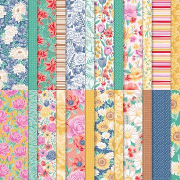 FLOWERS FOR EVERY SEASON DESIGNER SERIES PAPER