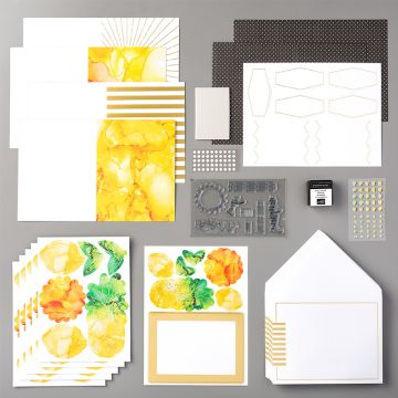 PAPER PUMPKIN KIT BOX OF SUNSHINE (ENGELS)