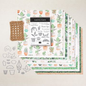 Bloom where you are planted suite collection, papers, stamps, dies and embellishments