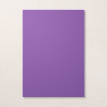 GORGEOUS GRAPE A4 CARDSTOCK