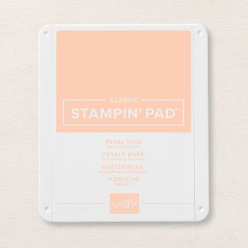 PETAL PINK CLASSIC STAMPIN' PAD