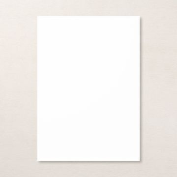 BASIC WHITE A4 CARDSTOCK