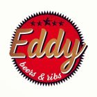 Eddy beer and ribs logo