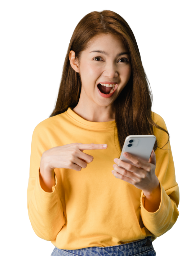 Girl-cellphone