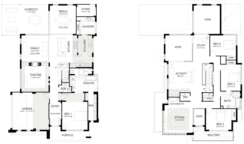 Floorplan for Aria