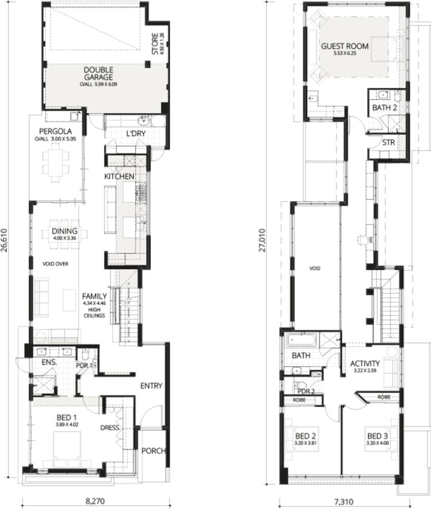 Floorplan for Soho