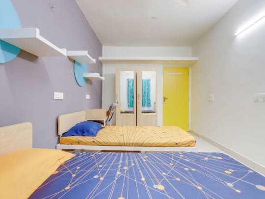Rent shared or single room PG accommodation in Hyderabad for girls