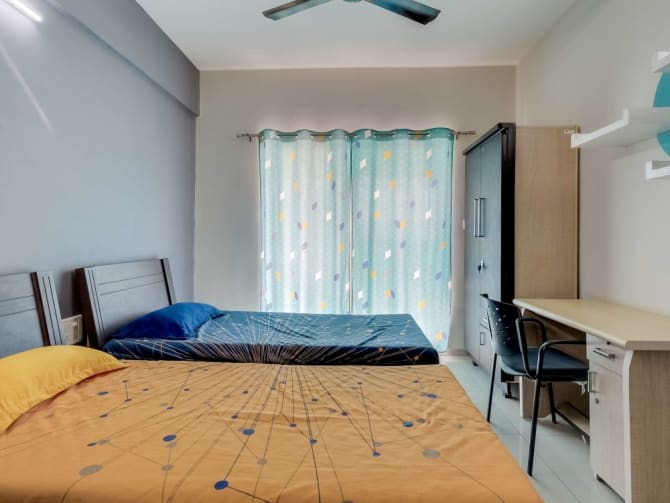 PG accomodation with food in Vadodara