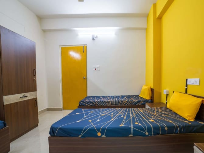 Luxury PG accommodation in Hyderabad with Food, Wifi, CCTV, House Keeping
