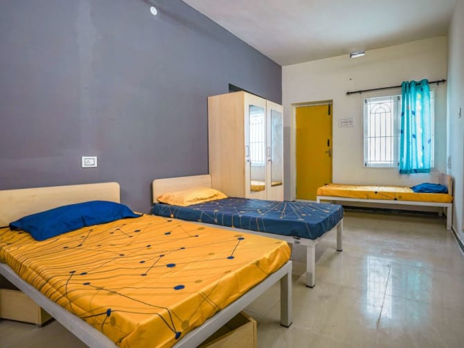 Best paying guest accommodation in Coimbatore