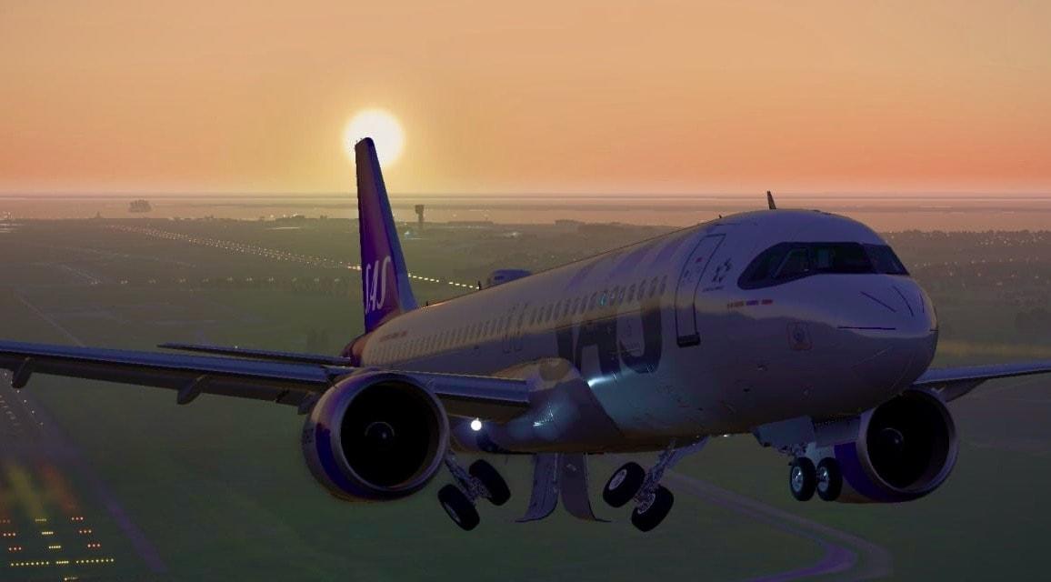 SAS A320