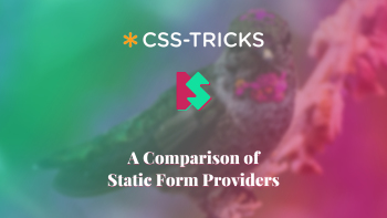 Cover for A Comparison of Static Form Providers article.