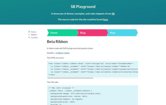 Screenshot of Playground