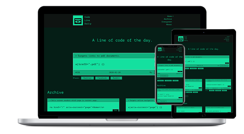 Code Line Daily