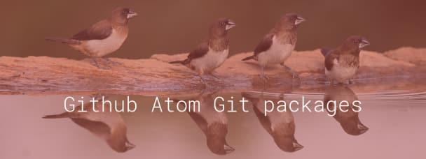 Github Atom Git packages