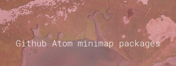 Github Atom minimap packages