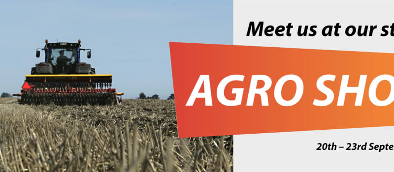 Meet us at the Agro Show fair in Poland