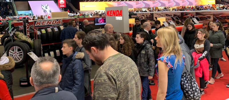 Swiss STARCO team promotes Kenda at GIMS
