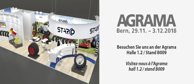 Treffen Sie STARCO auf der AGRAMA 2018