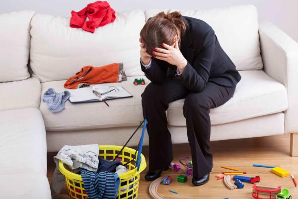 Самый сильный источник стресса для женщин - это не их работа или отношения, это их дом