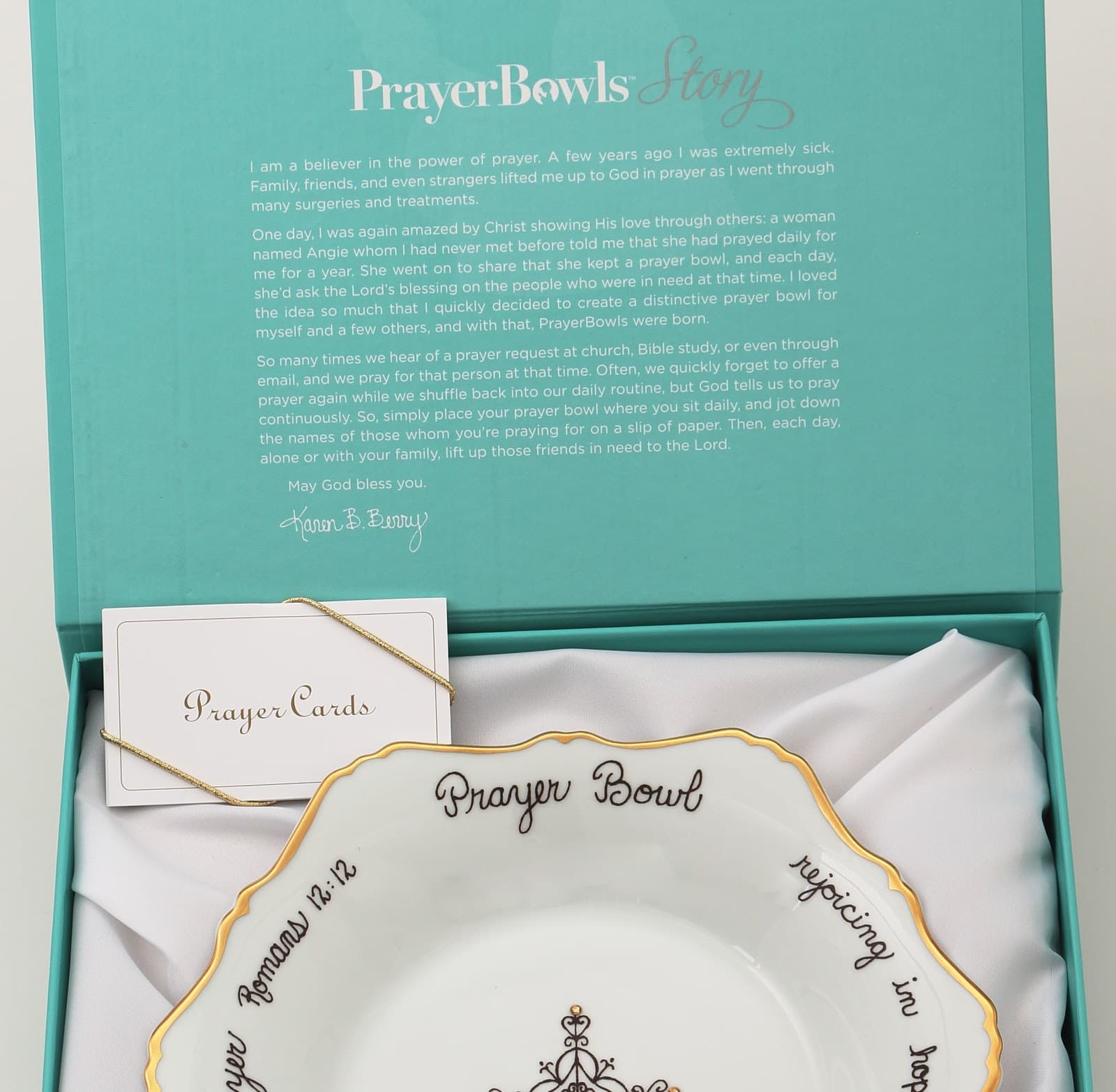 Prayer Bowls: How Tom & Karen Berry Built a Successful Christian