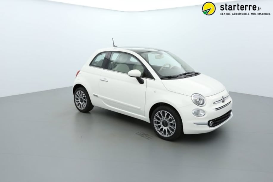 Fiat 500 Serie 6 1.2 69 CH LOUNGE Bossa Nova White