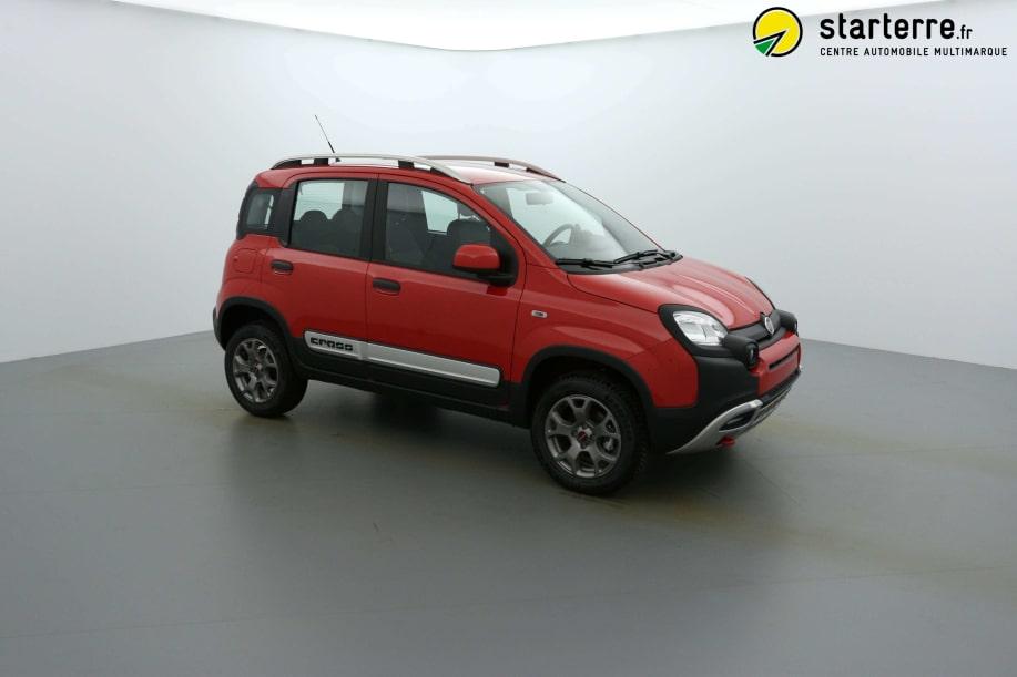 Fiat Panda Serie 2 0.9 90 CH TWINAIR S&S 4X4 CROSS Rouge Amore
