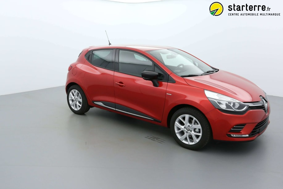 Renault CLIO IV TCe 90 Energy Limited Rouge Flamme